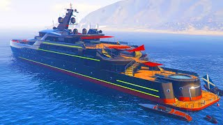 "GTA 5 Online - SAVE MILLIONS! Best Super Yacht Is ""The Pisces"" (GTA 5 Executives Update)"