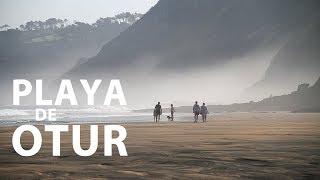 Playa de Otur, Luarca. Playas Asturias