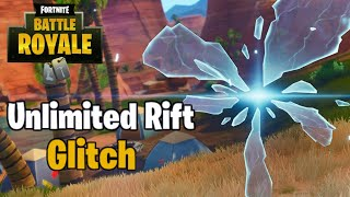 How To Use Op Unlimited Rifts And Teleport On Fortnite Battle Royale!!