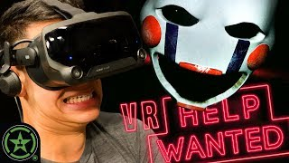 The Most TERRIFYING Puppet - Five Nights at Freddy's VR: Help Wanted (#4)