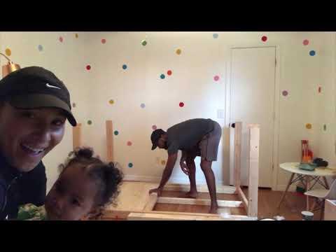 DIY - TODDLER HOUSE BED FRAME