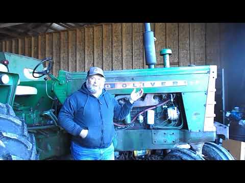 Why I have Oliver Tractors and the equipment I have