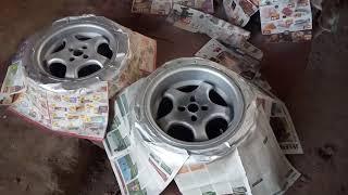 VW vlog #22 - Lakování kol