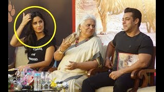 Katrina Kaif Romantic Moments With Salman Khan At Tiger Zinda Hai Promotion
