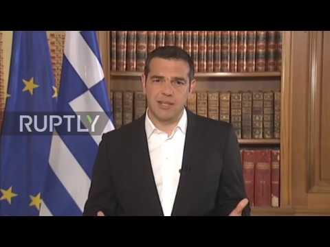 Greece: PM Tsipras announces three days of mourning for fire victims