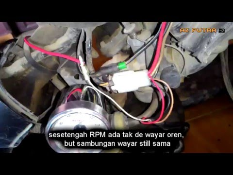 koso rx2n replica yamaha tachometer speedometer doovi Kriss 110 Headlamp Sime Darby