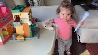 When Grandma's Away... Play Video Of Her For The Baby! TOO CUTE! | Perez Hilton