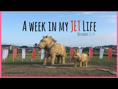 JET Programme Weekly Vlog 1 | A week in my JET life