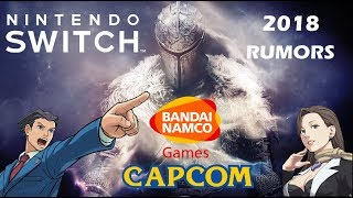 Nintendo Switch - New 2018 Rumors & Games Coming