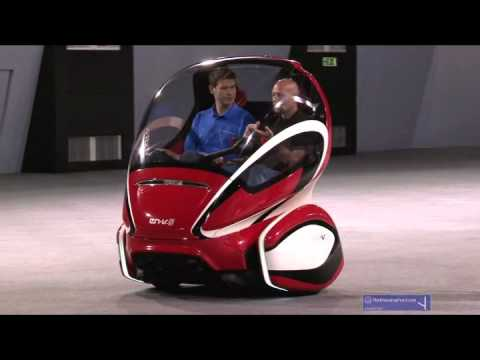 General Motors' EN-V concept - we ride shotgun
