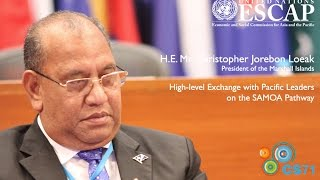 Voices of CS71: H.E. Mr. Christopher Jorebon Loeak, President of the Marshall Islands