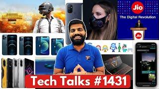 Tech-gesprekke # 1431 - PUBG Mobile India vir Android, S21 FE, onderwater vlieër, masker met mikrofoon, N10 5G