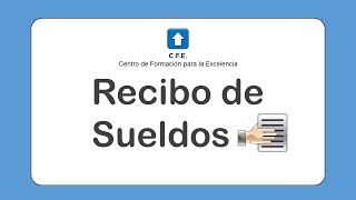Recibo De Sueldos Cfe