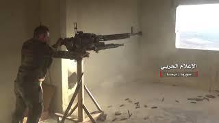 Война в Сирии. Дараа. САА ведет бои с боевиками