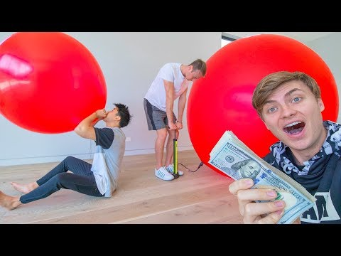 BIGGEST BALLOON WINS $10,000 CASH