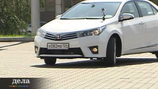 Тест-драйв новой шикарной Toyota Corolla, телепередача
