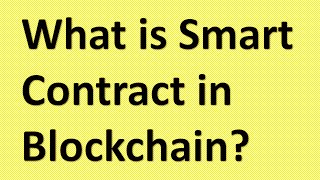 What is smart contracts in Blockchain|| Smart contracts in 2 mins||