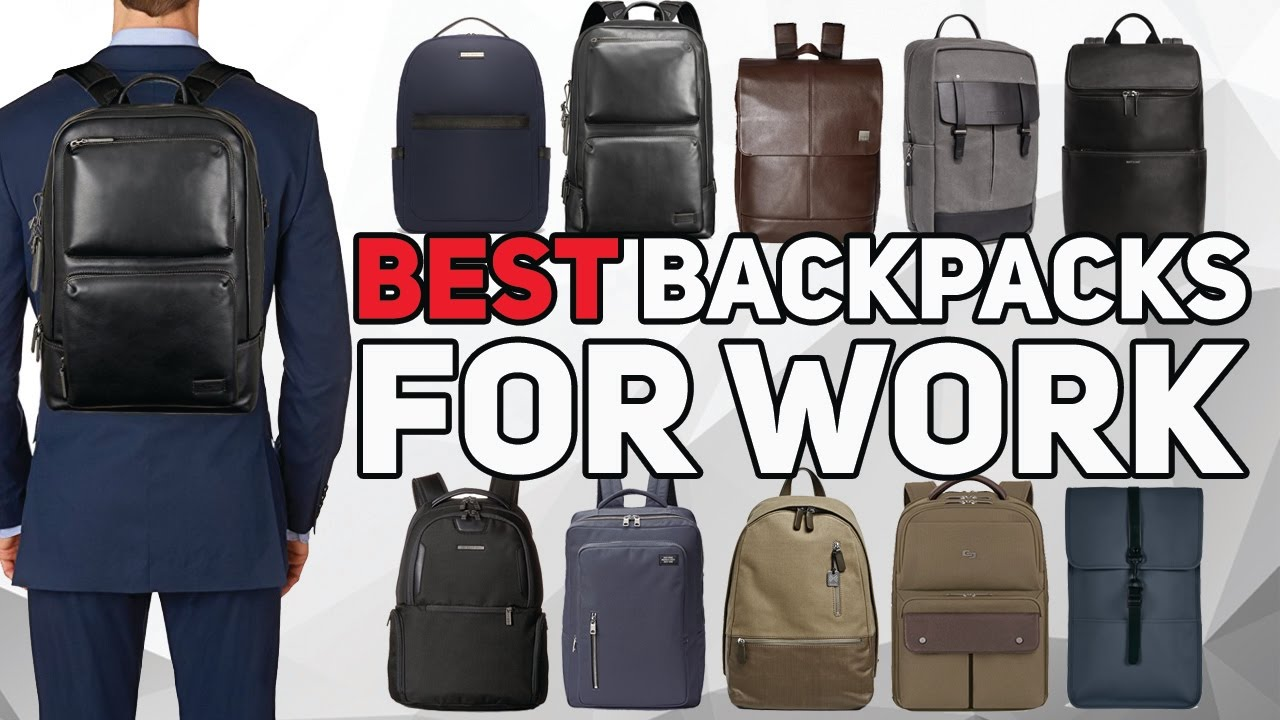 Best Backpack For Work 2017 - Professional and Stylish Men s backpacks cfcf21a90173a