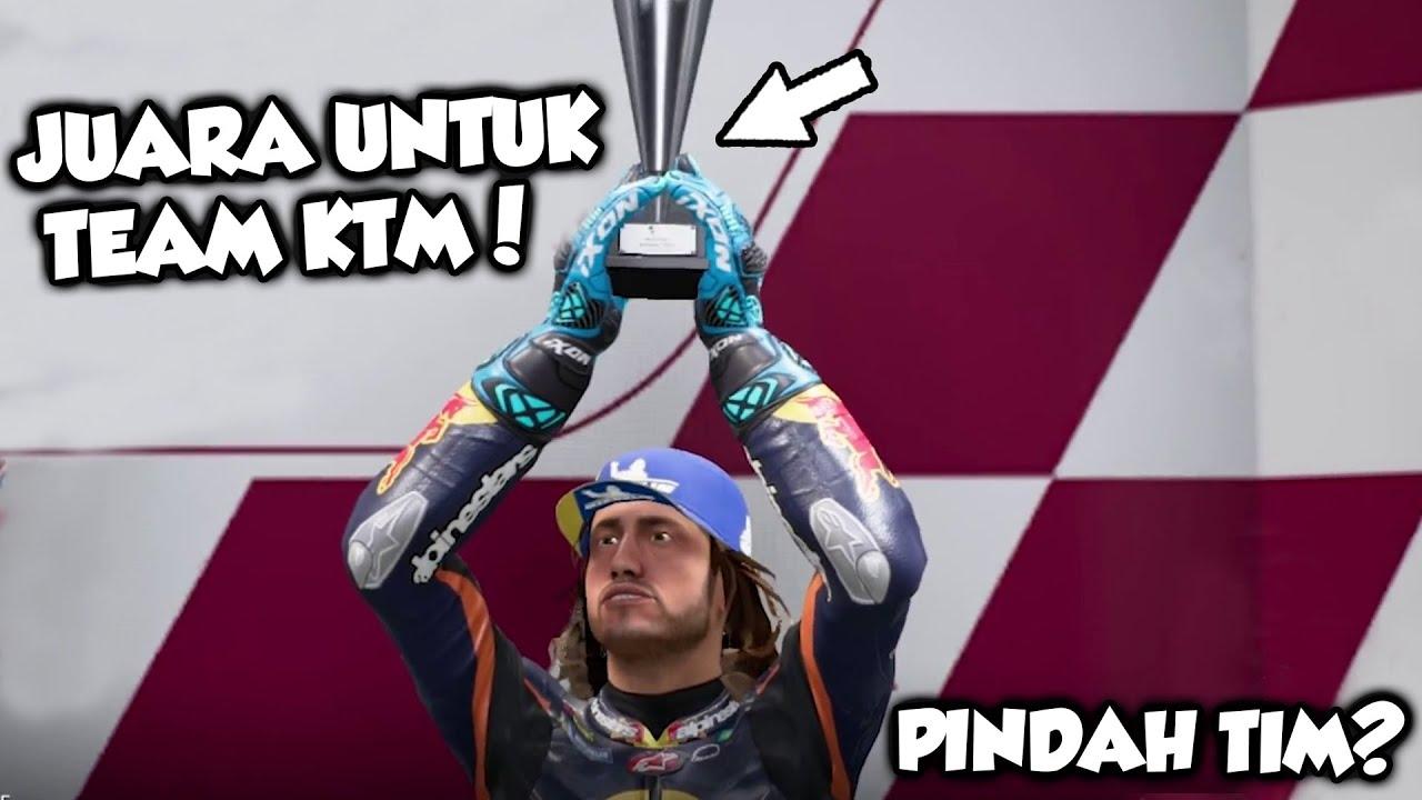 AKHIRNYA JUARA, APAKAH HARUS PINDAH TEAM..??? #FrenchGP #ItalianGP - MOTOGP 18 CAREER [PC] PART 42
