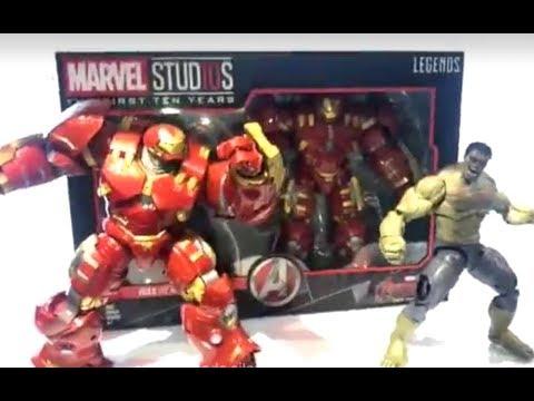 Hasbro: Marvel Studios: The First Ten Years (Marvel Legends) LA HULKSBUSTER ESTA INCREIBLE!