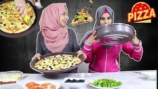 بيتزا لأول مره !! تحذير !! 🚩هات اكلك معاك وانت بتشوف الفيديو!! رح تجوووع
