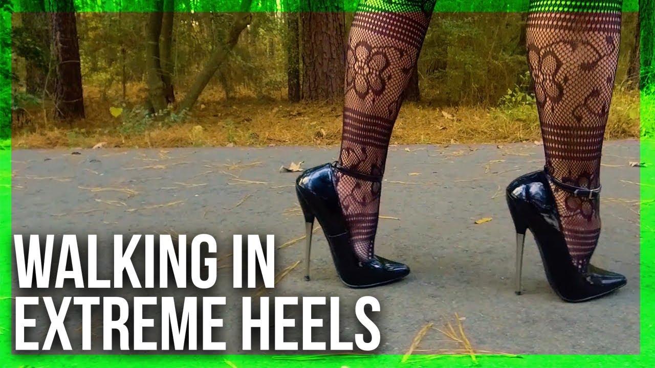d4dd3927547 Walking in 6in. PLEASER DAGGER-12 Heels! - YouTube
