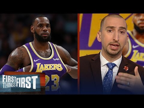 Nick Wright on LeBron's worst game of the season, Ingram trade rumors | NBA | FIRST THINGS FIRST
