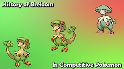 How GOOD was Breloom ACTUALLY? - History of Breloom in Competitive Pokemon (Gens 3-6)