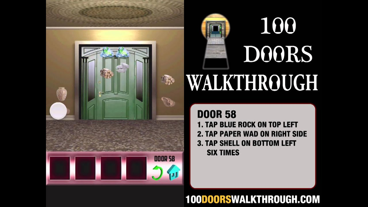 100 Doors X - Door 58 Walkthrough iPhone | 100 Doors X 58 | 100 Doors Walkthrough Cheats - YouTube & 100 Doors X - Door 58 Walkthrough iPhone | 100 Doors X 58 | 100 ...