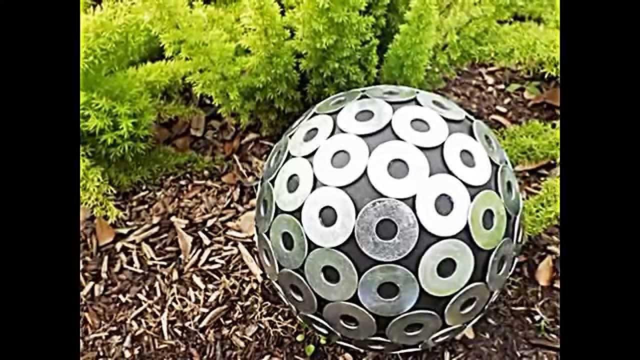 gartendeko selber machen beton: gartendeko granitsäule und beton, Garten Ideen