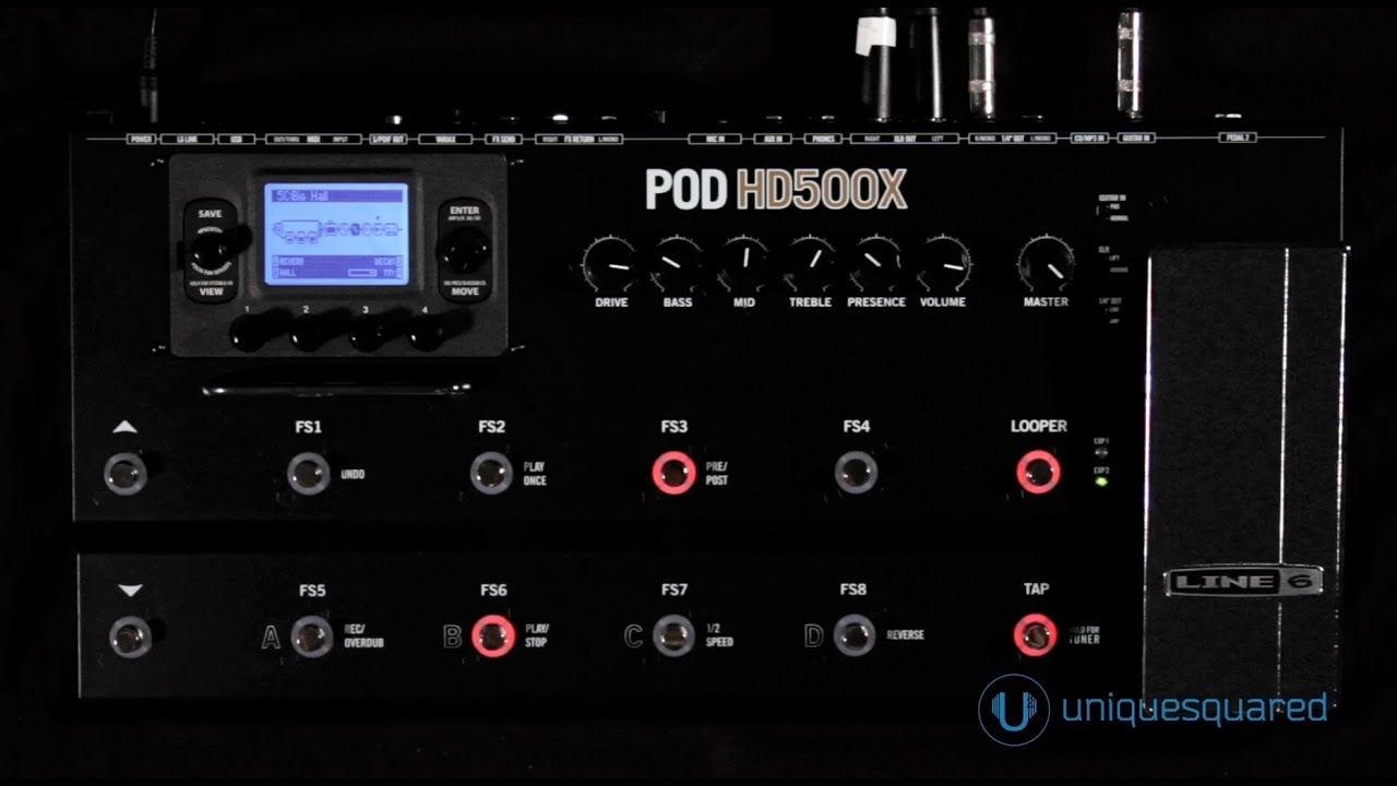 Gabriel's Pod Hd500 Patches
