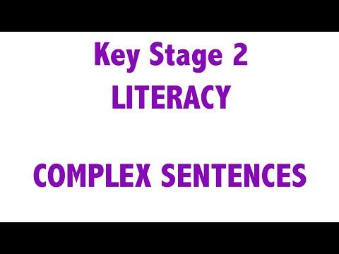 KS2 - Literacy - Complex Sentences