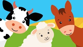 Bajki o zwierzętach na farmie - nazwy zwierząt