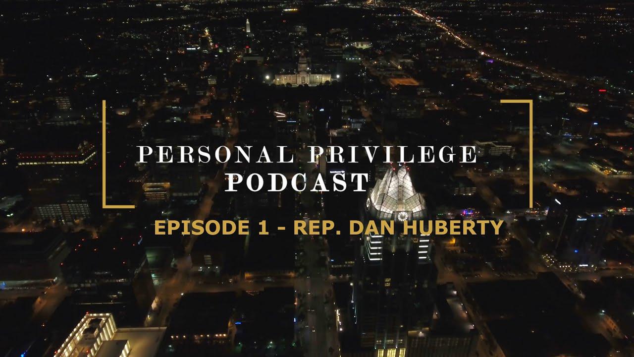 "Introducing ""Personal Privilege"""