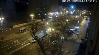 Фото Веб-камера Киев Европейская площадь  Майдан 2020 02 21