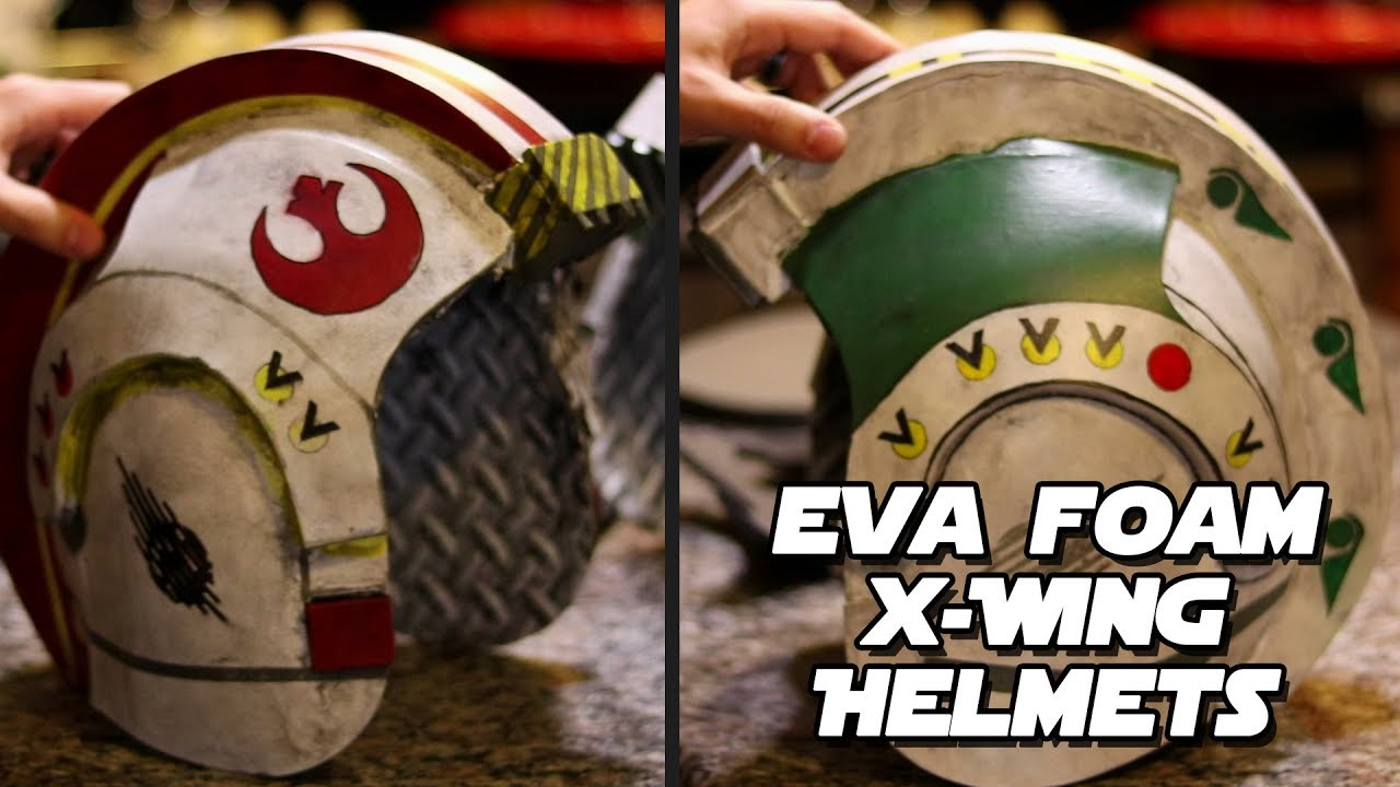 Build Your Own X Wing Helmet Eva Foam Tutorial Intro