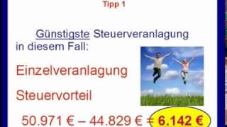 Tipp1 Abfindung - Günstigste Steuerveranlagung