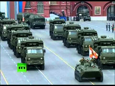 Nga trình làng vũ khí tối tân trong lễ diễu binh kỷ niệm chiến thắng Phát xít