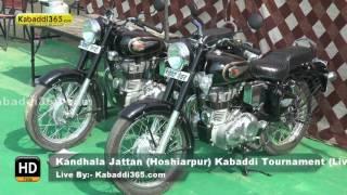 Kandhala Jattan (Hoshiarpur) Kabaddi Tournament 28 Oct 2016 (Live)