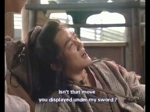 Laughing in the Wind 2001...Tavern Fight scene (Tian, Linghu, Yi Lin).wmv