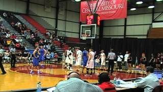 UCM Basketball - UCM vs. Tabor College - Part of First Half - 11-13-2013