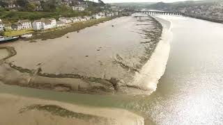 Drone Adventure in Bideford - North Devon - Shipwrecks on River Torridge