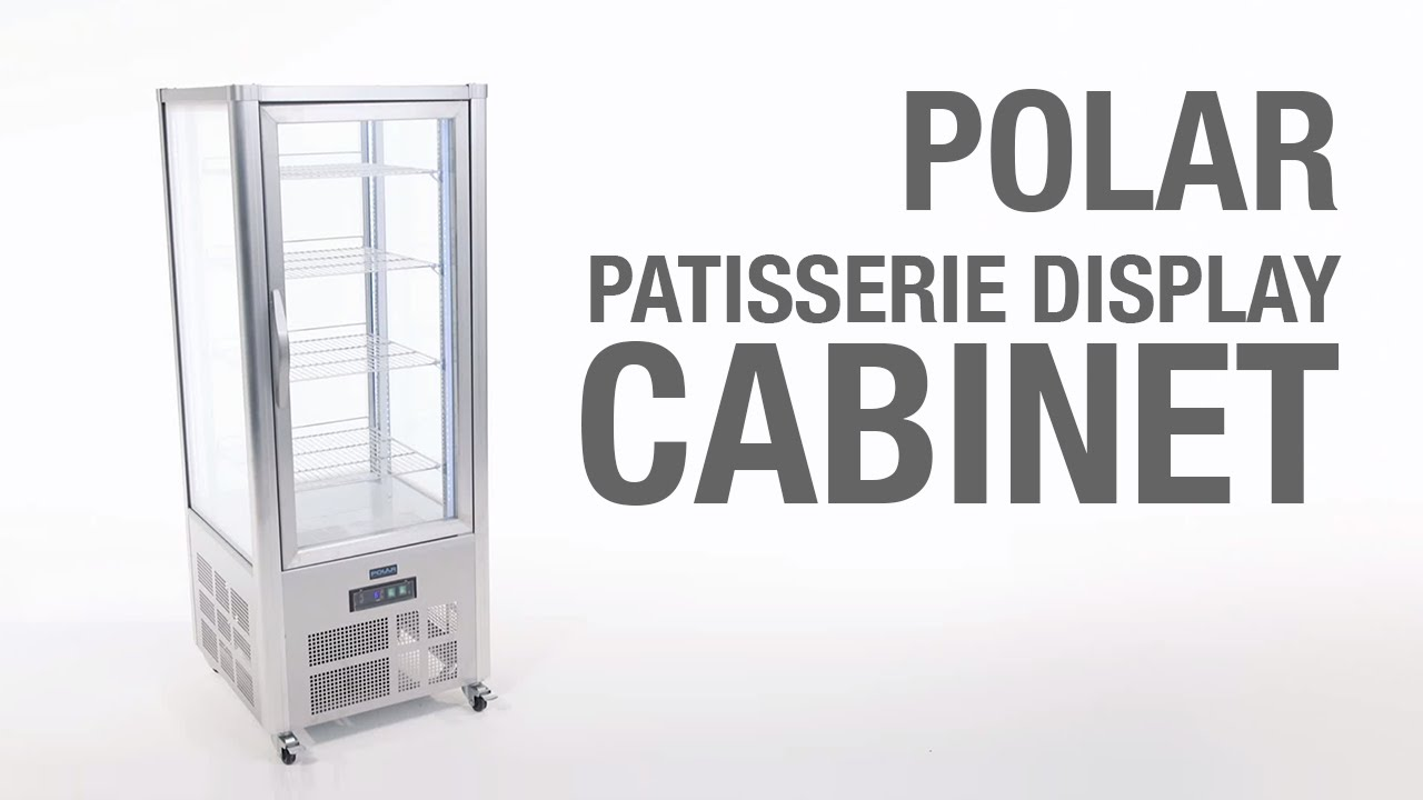 Polar Patisserie Display Cabinet (GD881)  sc 1 th 168 & Polar Patisserie Display Cabinet (GD881) - YouTube