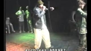 Rap marocain (archives): groupe Night Boys (Beauséjour, Casablanca) 2000.