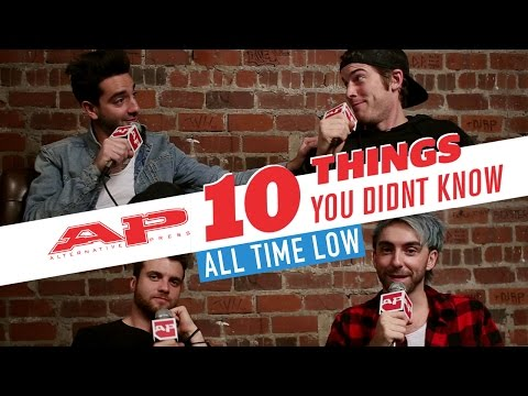10 Things You Didn't Know about All Time Low
