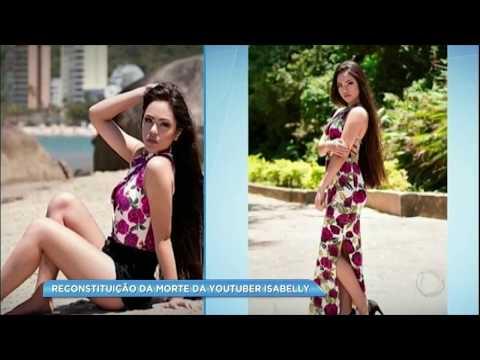 Polícia faz reconstituição da morte da youtuber Isabelly