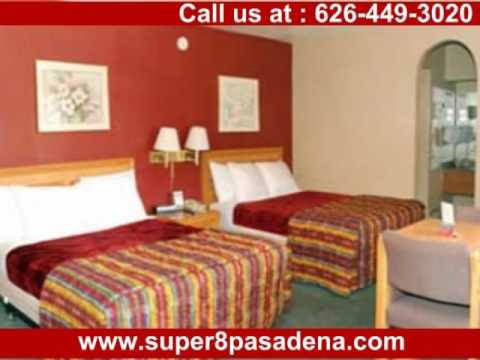 Super 8 Hotel In Pasadena California Rose Bowl Stadium Hotels