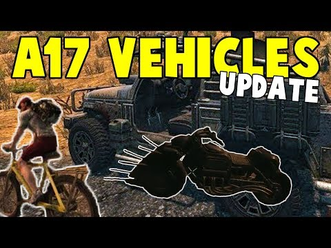 Alpha 17 Vehicle Update | 7 Days To Die Alpha 17 Preview