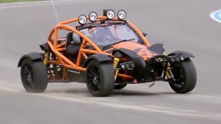 Chris Harris Drives the INSANE Ariel Nomad | Extra Gear | Top Gear