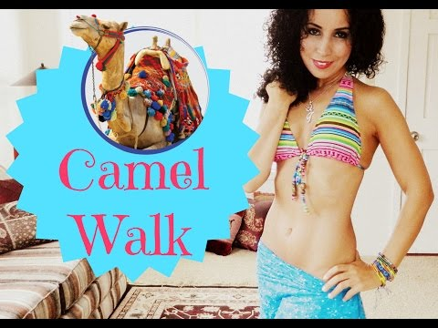 Learn to belly dance: how to do the camel walk
